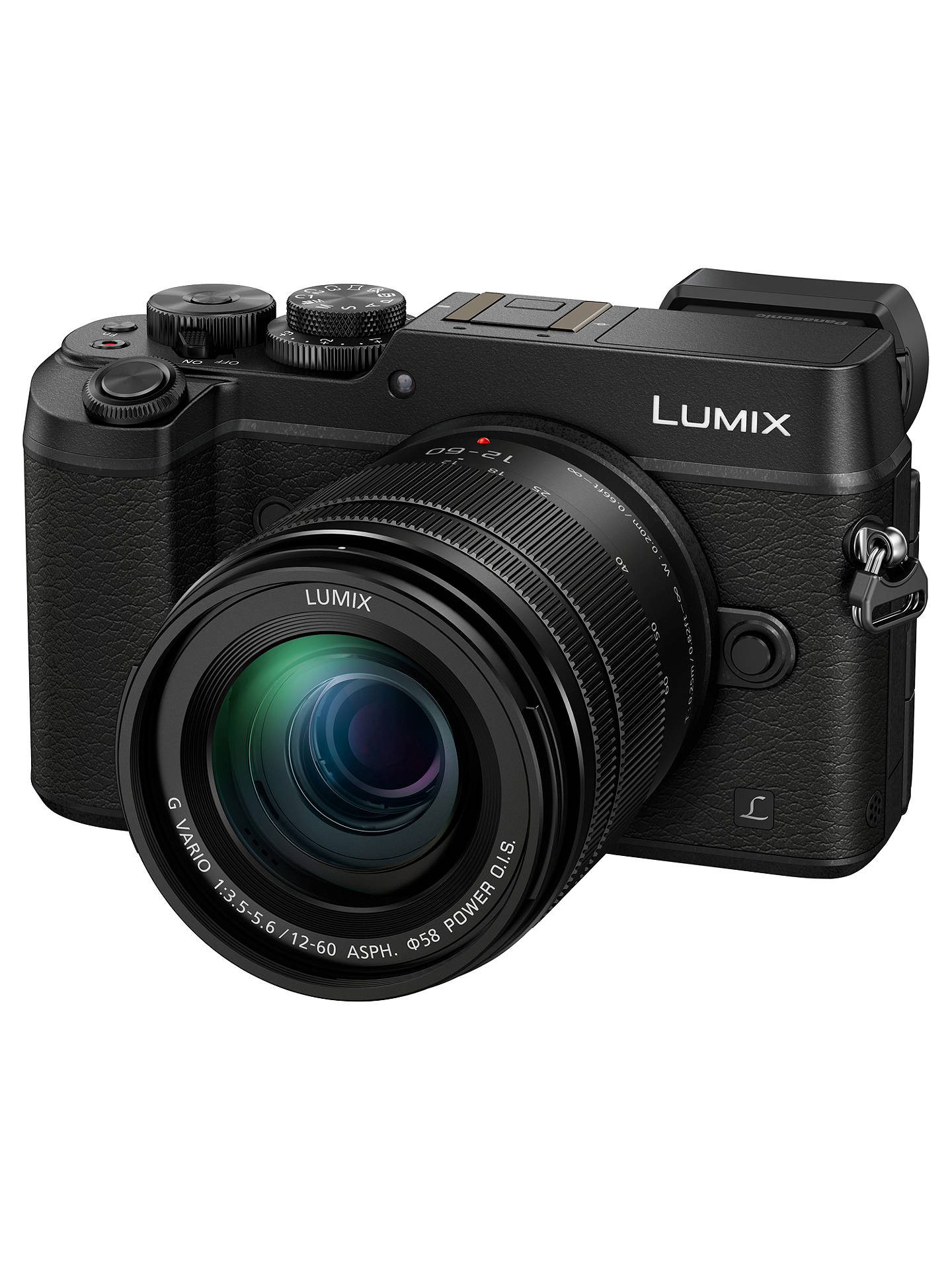 Panasonic Lumix DMC GX8 Compact System Camera With 12 60mm Lens 5x