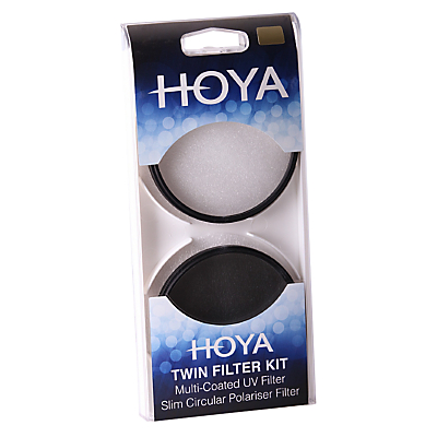 Image of Hoya 52mm Twin Lens Filter Pack With UV & Circular Polariser Filter