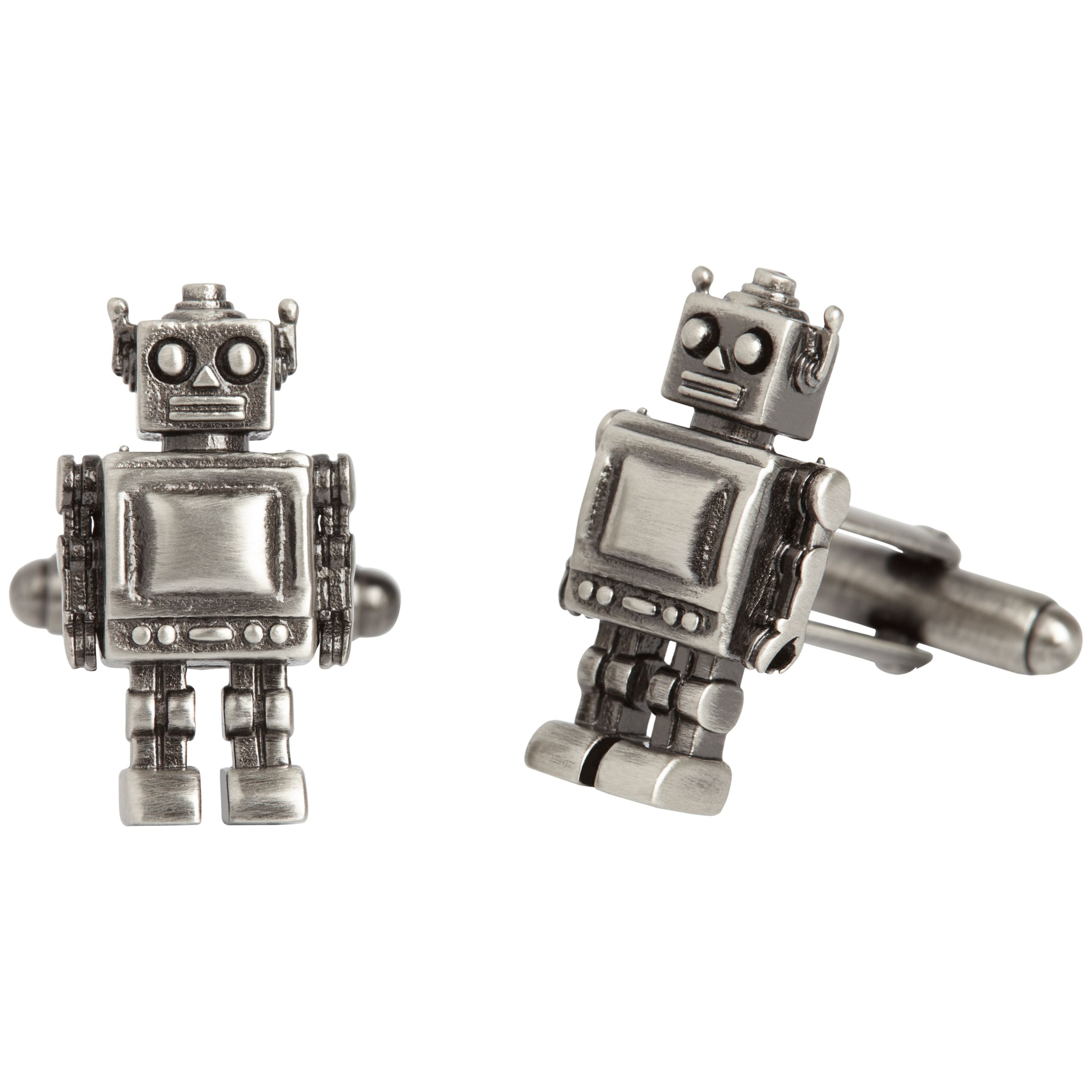 Simon Carter Simon Carter Robot Cufflinks, Gunmetal