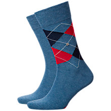 Buy Burlington Light Denim Socks, One Size, Pack of 2, Light Denim Online at johnlewis.com