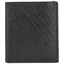 Buy John Lewis Katta Aniline Leather Credit Card Wallet, Black Online at johnlewis.com