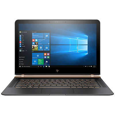 Image of HP Spectre 13-v000na Laptop, Intel Core i5, 8GB RAM, 256GB SSD, 13.3 Full HD, Ash Luxe Copper