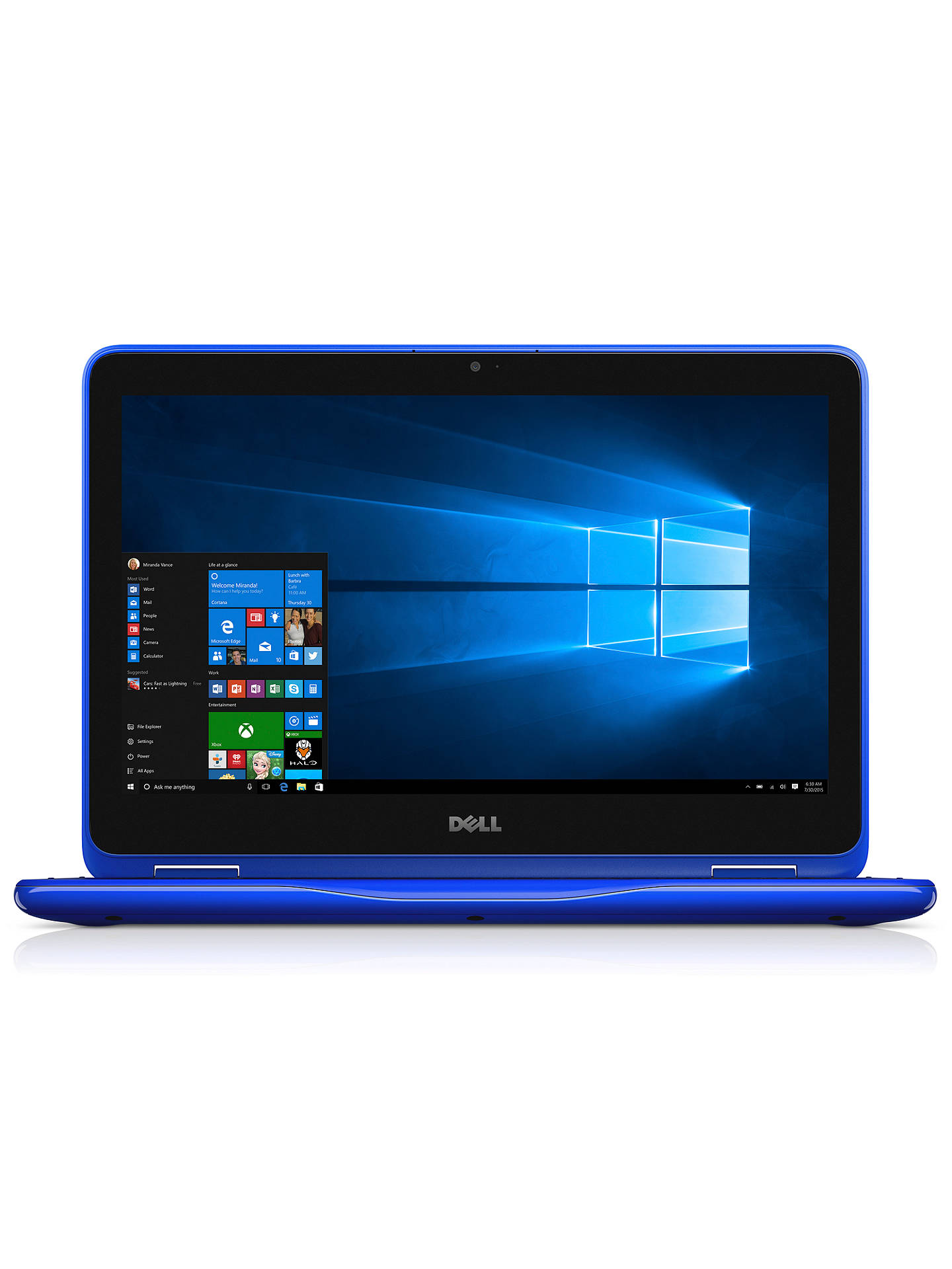 Dell Inspiron 11 3000 Series 2 In 1 Laptop Intel Celeron