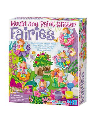Mould & Paint Glitter Fairies Kit