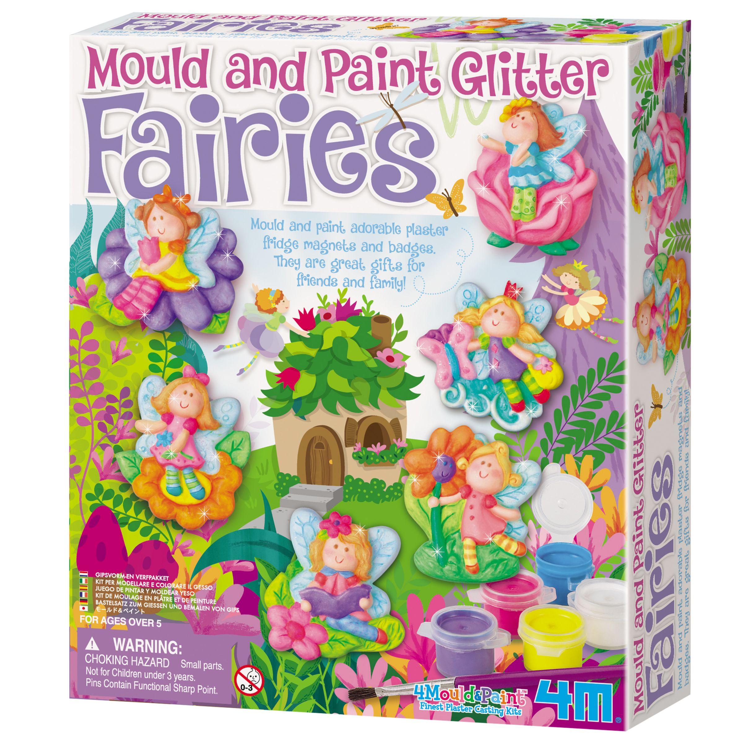 Great Gizmos Mould & Paint Glitter Fairies Kit