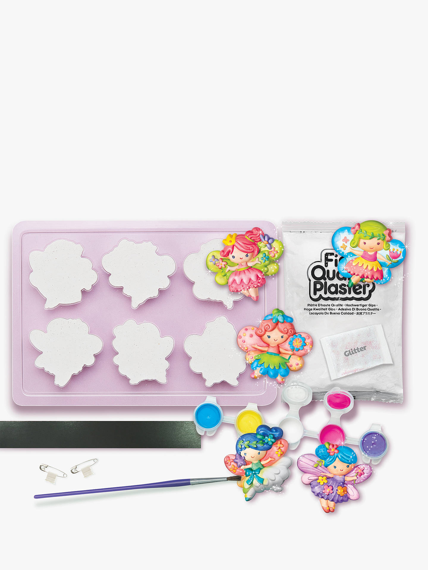 Buy Mould & Paint Glitter Fairies Kit Online at johnlewis.com