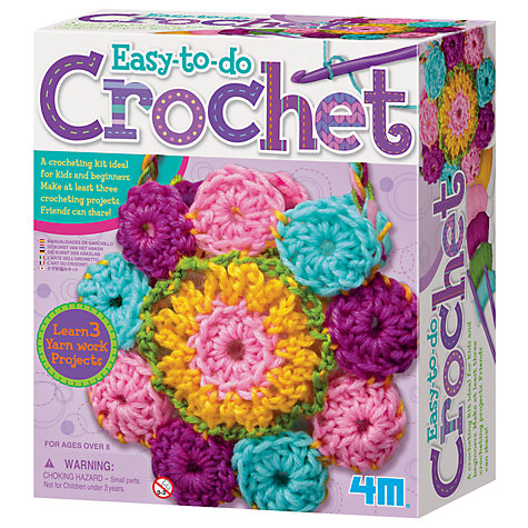 Buy Easy-To-Do Crochet Art Online at johnlewis.com