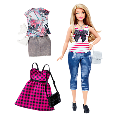 Barbie Fashionistas Everyday Chic Doll and Fashions