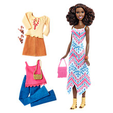 Buy Barbie Fashionistas Boho Fringe Doll and Fashions Online at johnlewis.com