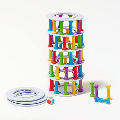 Image of John Lewis & Partners Tumbling Tower Game