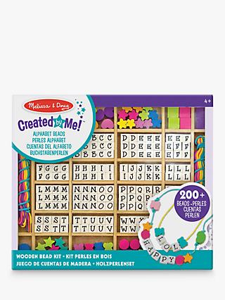 Melissa & Doug Wooden Stringing Beads In A Box