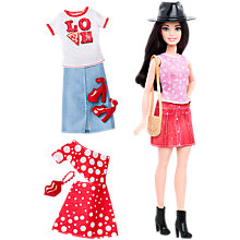 Buy Barbie Fashionistas Pizza Pizzazz Doll Online at johnlewis.com