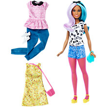 Buy Barbie Fashionistas Blue Violet Doll and Outfit Pack Online at johnlewis.com