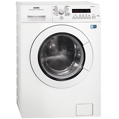 AEG L75670NWD Freestanding Washer Dryer, 7kg Wash/4kg Dry Load, A Energy Rating, 1600rpm Spin, White