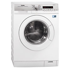 Buy AEG L76495FL2 Freestanding Washing Machine, 9kg Load, A+++ Energy Rating, 1400rpm Spin, White Online at johnlewis.com