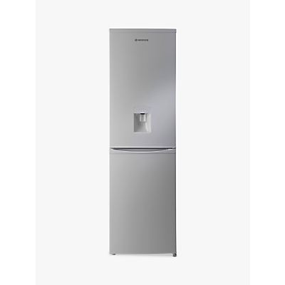 Hoover HVBF5182AWK Freestanding Frost Free Fridge Freezer, A+ Energy Rating, 55cm Wide, Silver
