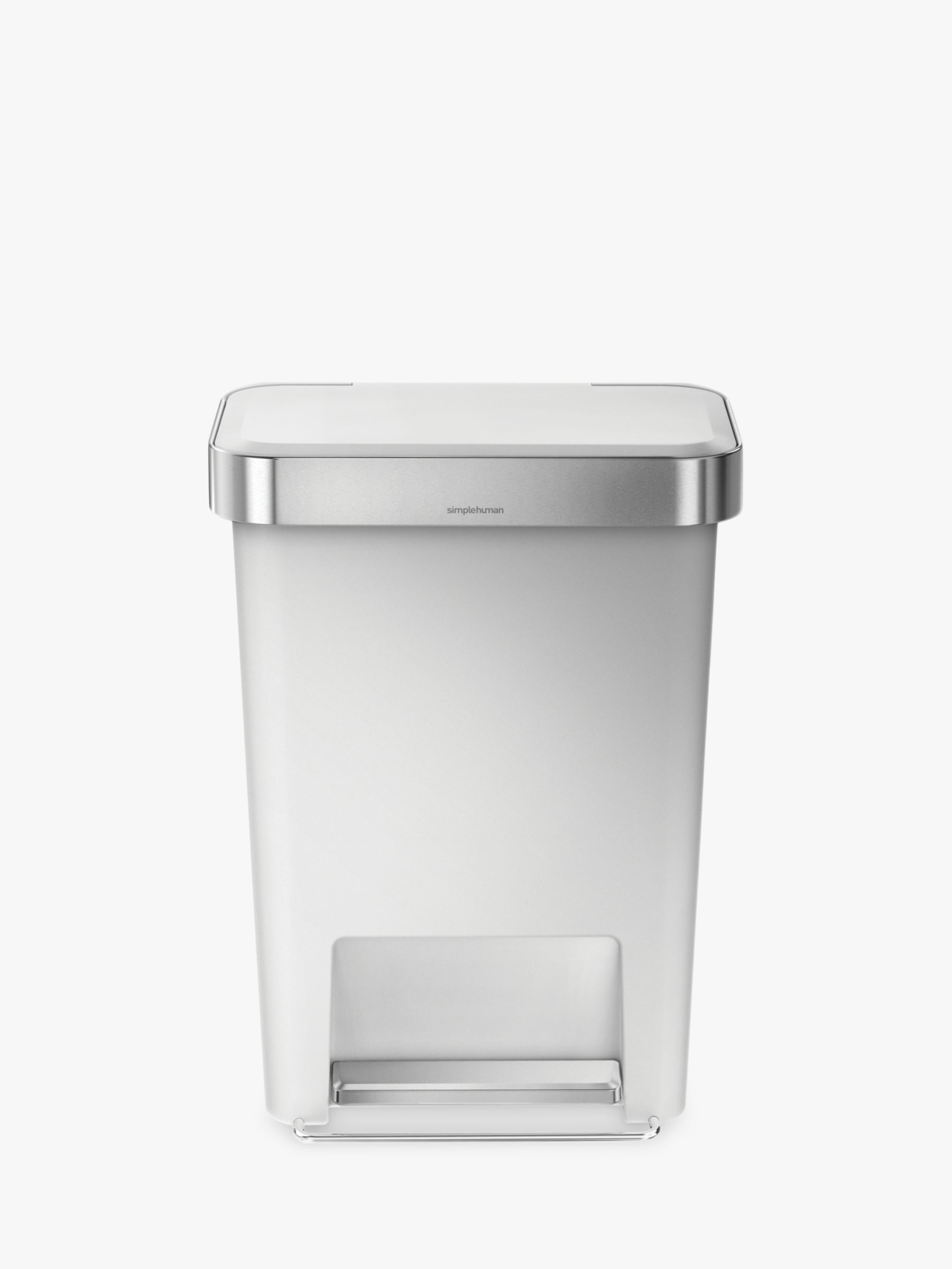 Simplehuman simplehuman Liner Pocket Pedal Bin, 45L