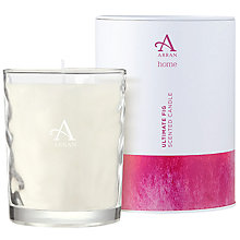 Buy Arran Sense Of Scotland Ultimate Fig Scented Candle, Large Online at johnlewis.com
