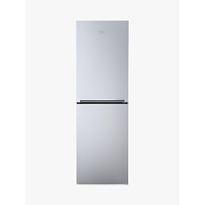 Image of Beko CFG1552S Freestanding Fridge Freezer, A+ Energy Rating, 54cm Wide, Silver