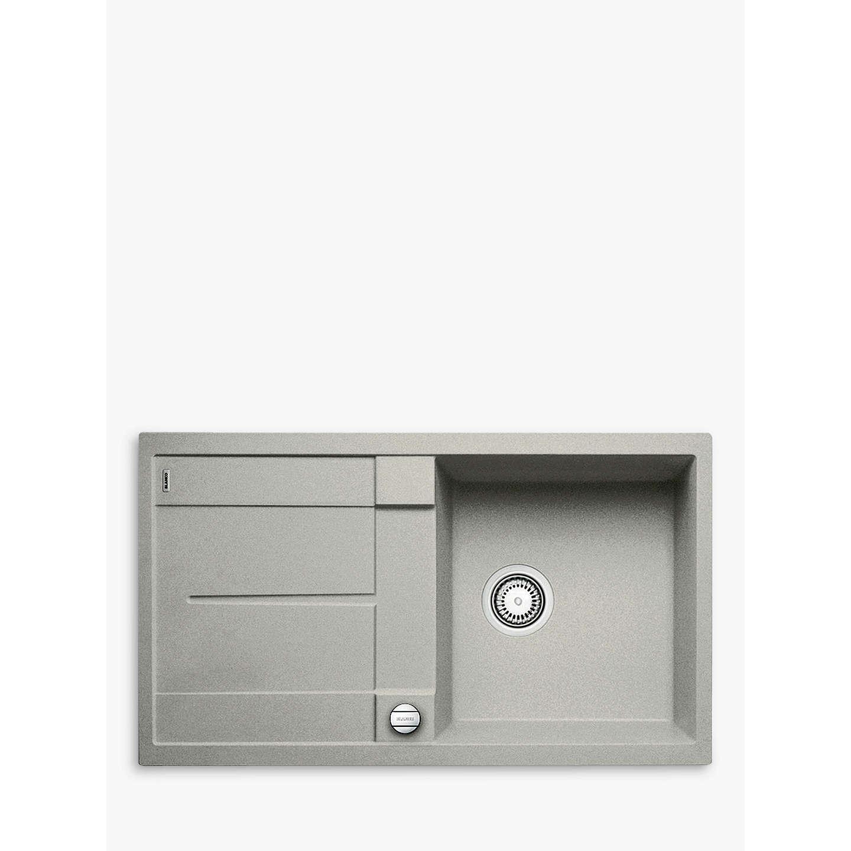 Pearl Grey Kitchen: Blanco Metra 5S Composite Granite Single Bowl Kitchen Sink