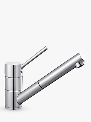 Blanco Peak-S BM4700 Single Lever Mixer Kitchen Tap with Adjustable Head, Chrome