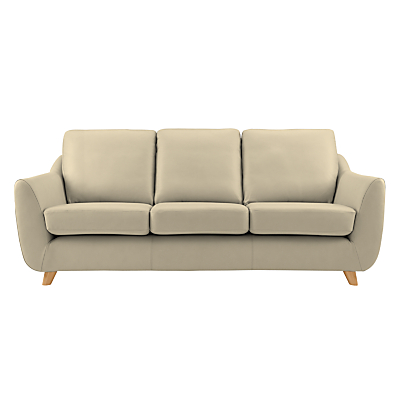 G Plan Vintage The Sixty Seven Leather 3 Seater Sofa