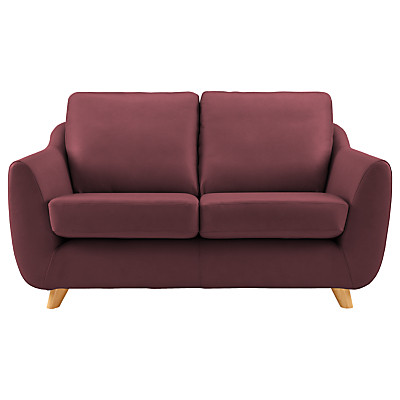 G Plan Vintage The Sixty Seven Leather Small 2 Seater Sofa