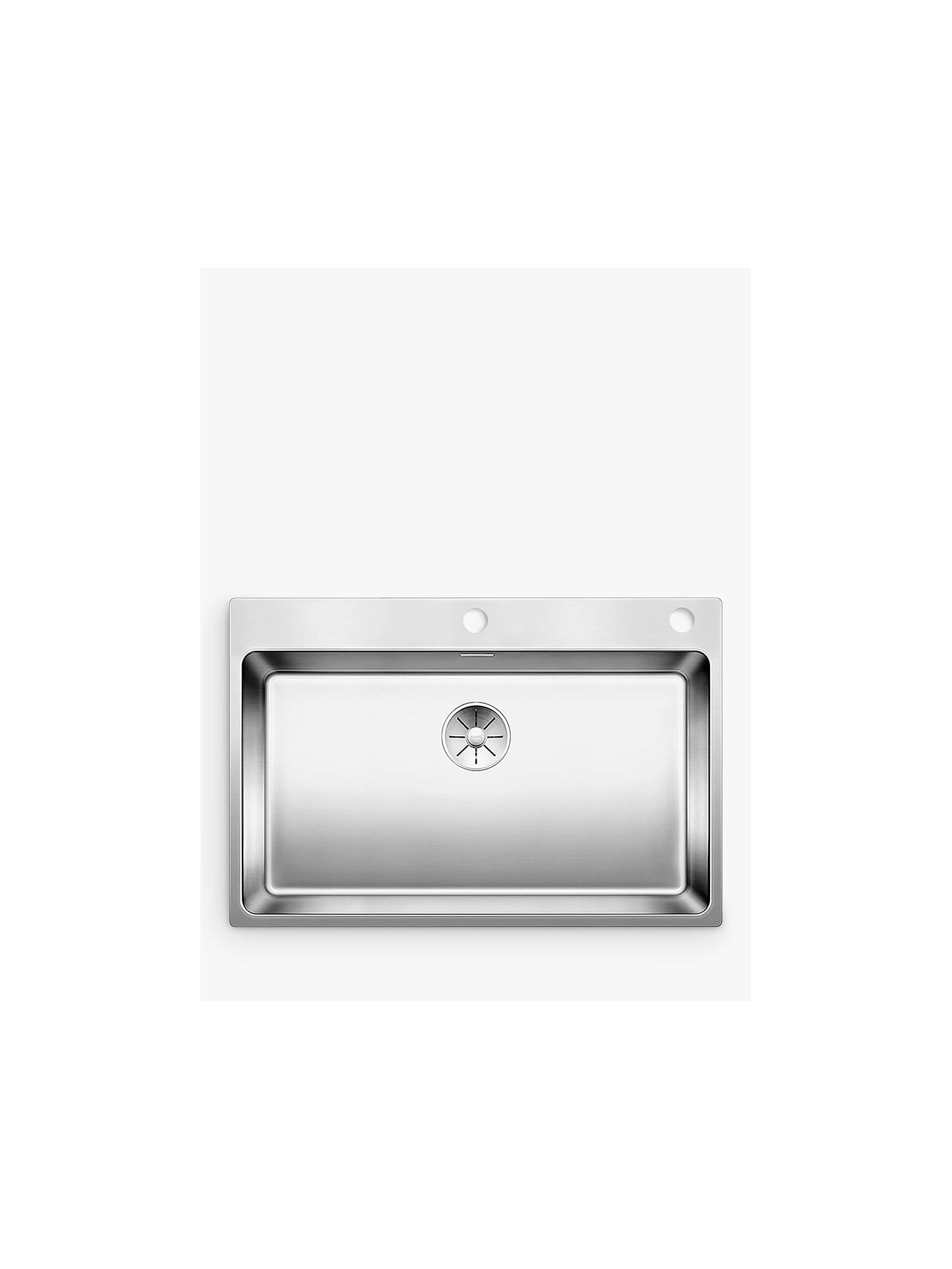 BuyBlanco Andano 700IFA Single Bowl Inset Kitchen Sink, Stainless Steel Online at johnlewis.com