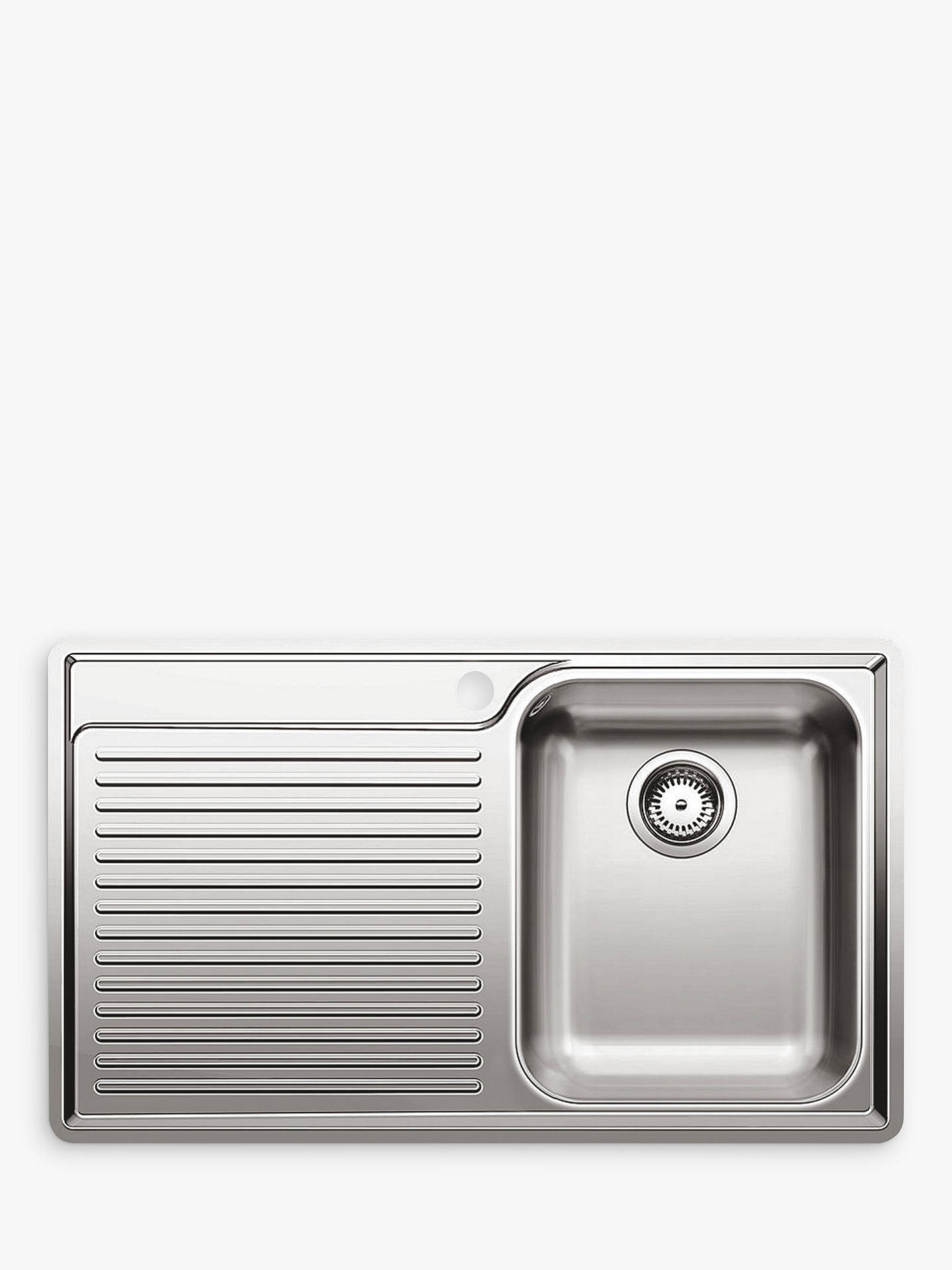 Blanco Classic 45 S-IF Single Inset Kitchen Sink with Right Hand ...