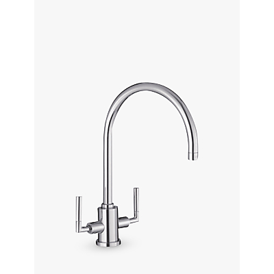Blanco Eye BM5300 Twin Handle Mixer Kitchen Tap, Chrome
