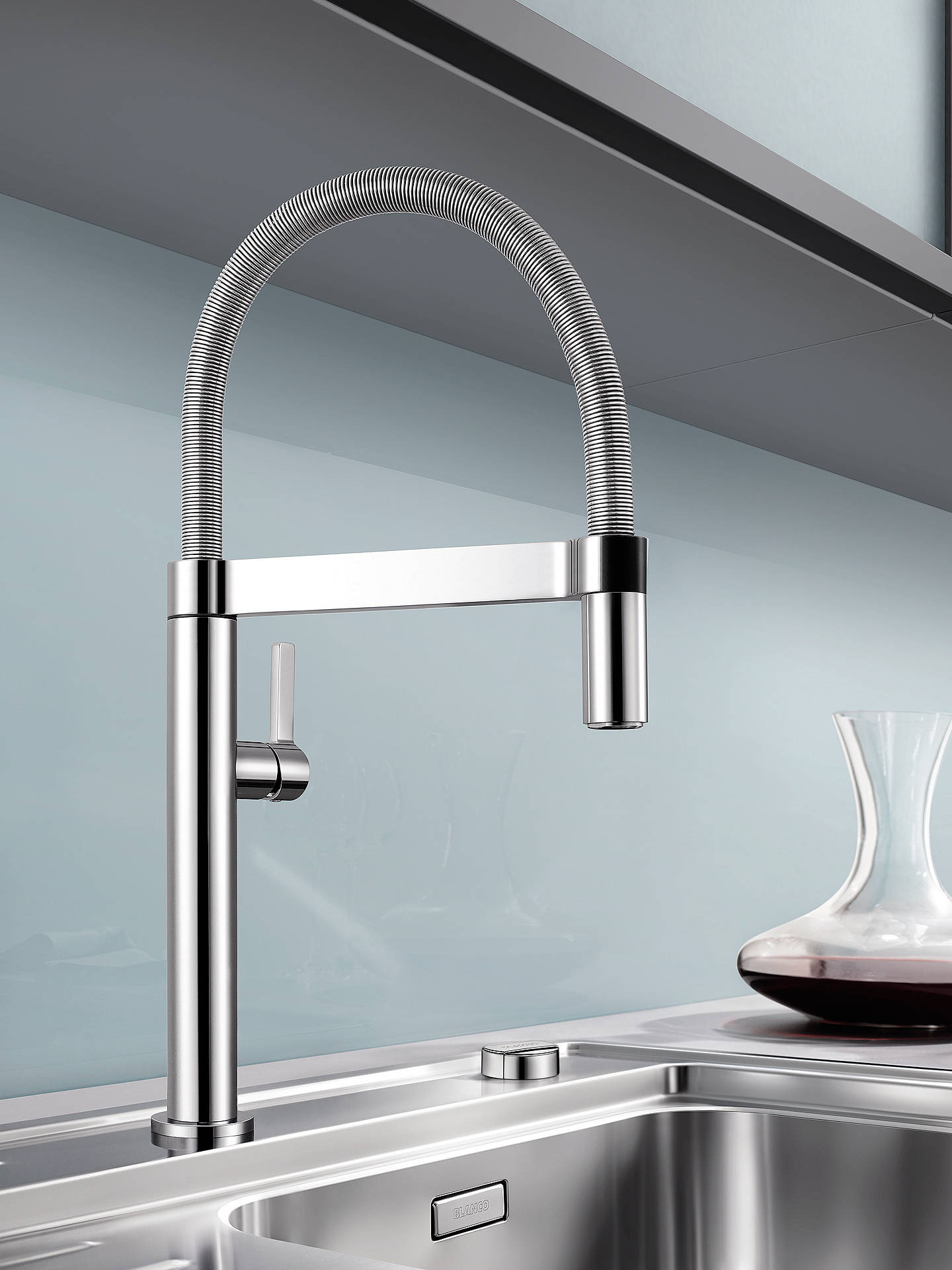 Blanco Culina-S Mini CH4600 Single Lever Mixer Kitchen Tap, Chrome ...