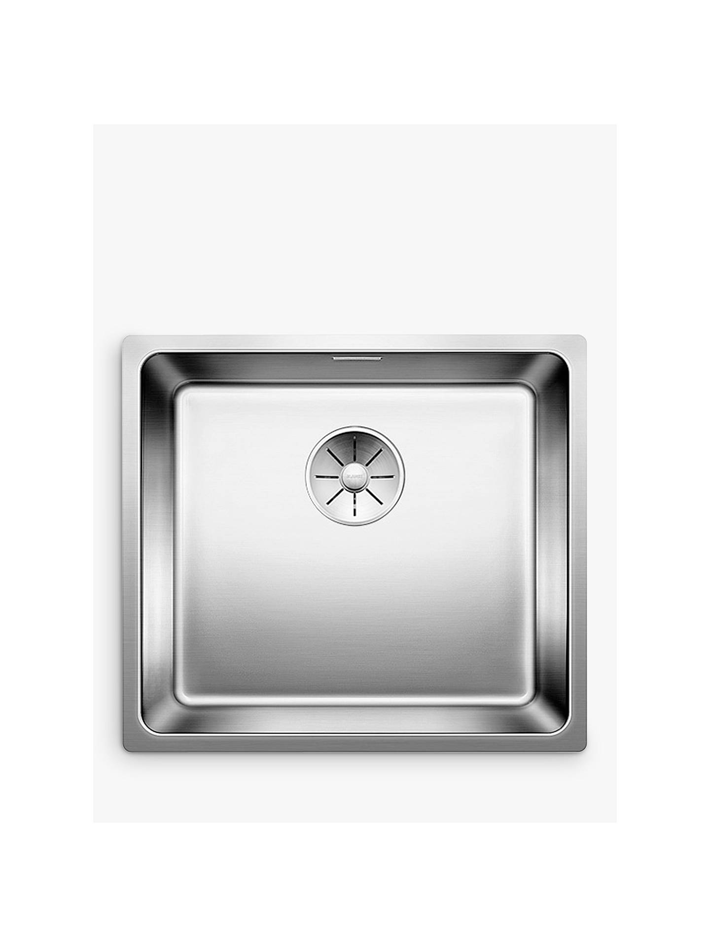 Blanco Andano 450-IF Single Bowl Inset Kitchen Sink, Stainless Steel ...