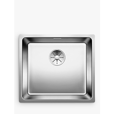 Blanco Andano 450-U Single Bowl Undermounted Kitchen Sink, Stainless Steel