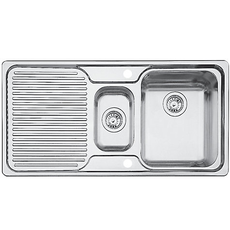 Buy Blanco Classic 6S 1.5 Inset Kitchen Sink, Stainless Steel ...