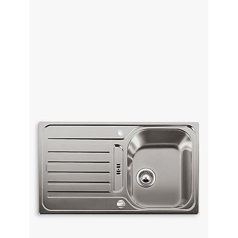 Buy Blanco Lantos 45 S Single Bowl Inset Kitchen Sink | John Lewis