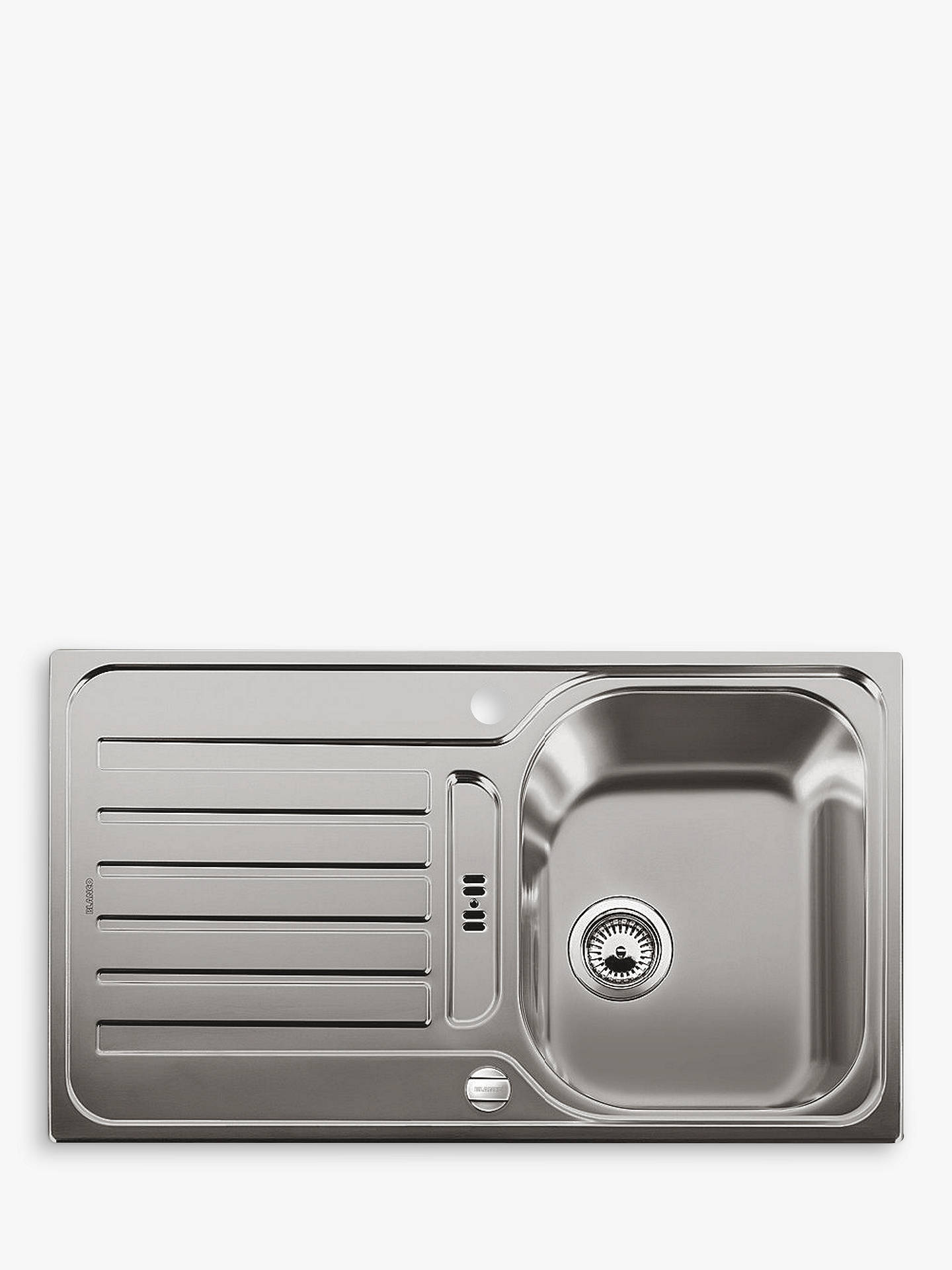 Blanco Lantos 45 S Single Bowl Inset Kitchen Sink At John