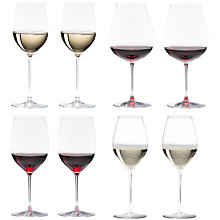 Buy Riedel Veritas Cabernet / Merlot & New World Pinot Noir & Viognier / Chardonnay & Champagne Glasses, Box of 8 Online at johnlewis.com