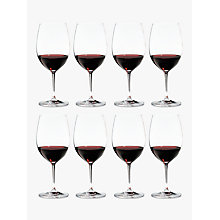 Buy Riedel Veritas Cabernet / Merlot Wine Glasses, Box of 8 Online at johnlewis.com