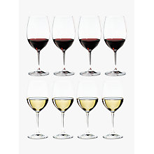 Buy Riedel Vinum Cabernet / Merlot & Viognier Glasses, Set of 8 Online at johnlewis.com