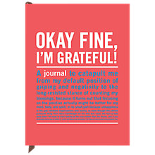 Buy Knock Knock Okay Fine Journal Online at johnlewis.com