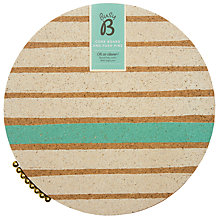 Buy Busy B Cork Board and Push Pins Online at johnlewis.com