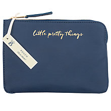 Buy Busy B Little Pretty Things Pouch, Navy Online at johnlewis.com