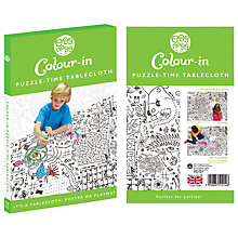 Buy Eggnogg Colour In Puzzle Table Cloth Online at johnlewis.com