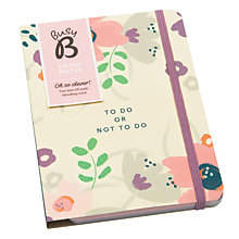 Buy Busy B Floral To Do Notes Online at johnlewis.com