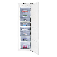 Buy Beko BZ77F Tall Freezer, A+ Energy Rating, 55cm Wide, White Online at johnlewis.com