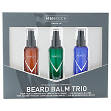 Buy Men Rock Beard Balm Trio Online at johnlewis.com