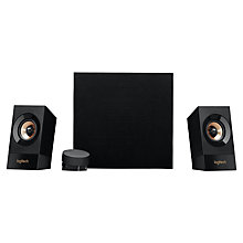 Buy Logitech Z533 Multimedia Speaker System, Black Online at johnlewis.com