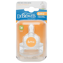 Buy Dr Brown's Options Level 3 Teats, Pack of 2 Online at johnlewis.com