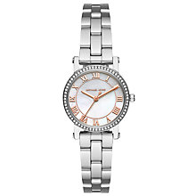 Buy Michael Kors Women's Petite Norie Crystal Bracelet Strap Watch Online at johnlewis.com