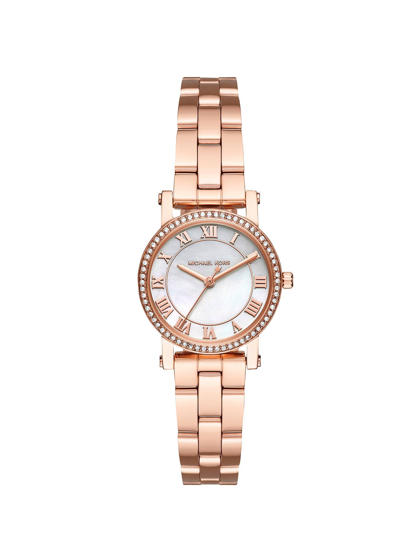 129ea8cb4980 Buy Michael Kors MK3558 Women s Petite Norie Crystal Bracelet Strap Watch